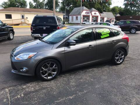 2014 Ford Focus for sale at PEKIN DOWNTOWN AUTO SALES in Pekin IL
