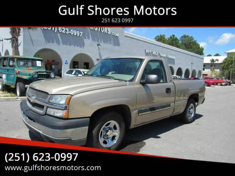 2004 Chevrolet Silverado 1500 for sale at Gulf Shores Motors in Gulf Shores AL
