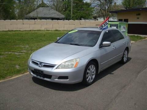 2006 Honda Accord for sale at MOTORAMA INC in Detroit MI