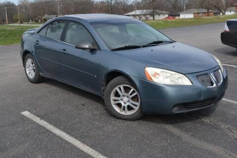 2006 Pontiac G6 for sale at GLADSTONE AUTO SALES    GUARANTEED CREDIT APPROVAL in Gladstone MO