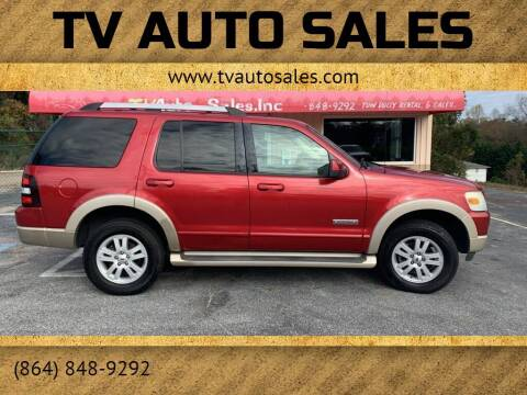 2007 Ford Explorer for sale at TV Auto Sales in Greer SC