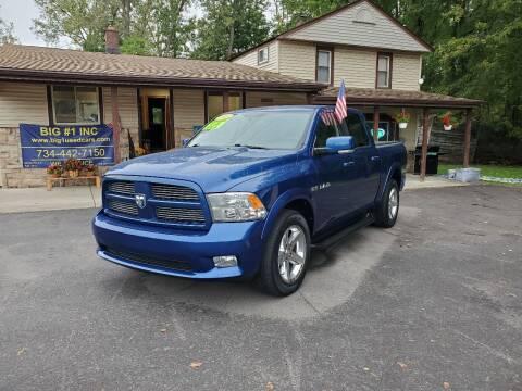 2010 Dodge Ram Pickup 1500 for sale at BIG #1 INC in Brownstown MI
