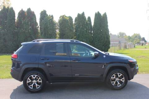 2014 Jeep Cherokee for sale at D & B Auto Sales LLC in Washington Township MI