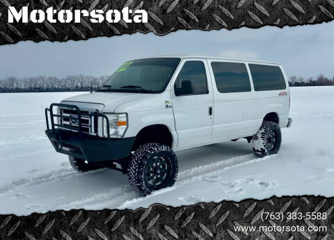 2012 Ford E-Series Wagon for sale at Motorsota in Becker MN