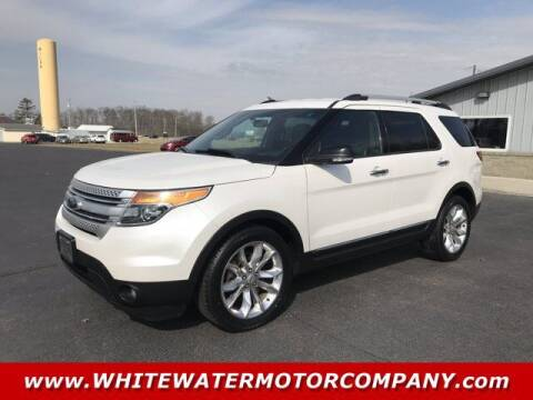 2013 Ford Explorer for sale at WHITEWATER MOTOR CO in Milan IN