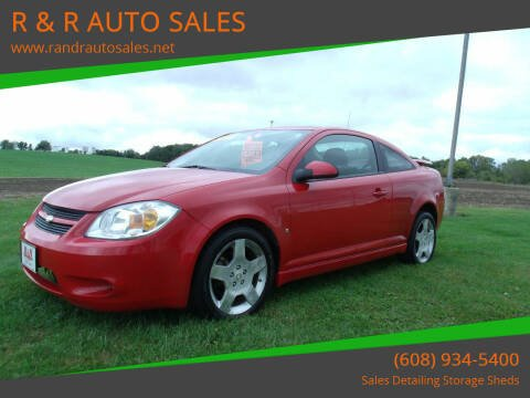 2008 Chevrolet Cobalt for sale at R & R AUTO SALES in Juda WI