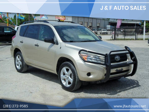 2008 Toyota RAV4 for sale at J & F AUTO SALES in Houston TX