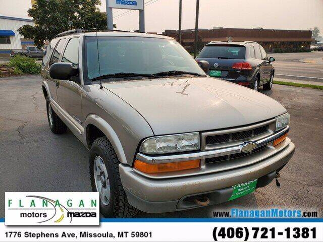used 2003 chevrolet blazer for sale carsforsale com used 2003 chevrolet blazer for sale