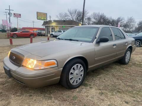2011 Ford Crown Victoria for sale at Texas Select Autos LLC in Mckinney TX