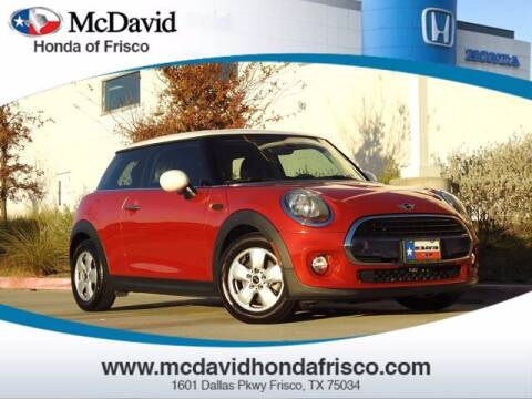 2017 MINI Hardtop 2 Door for sale at DAVID McDAVID HONDA OF IRVING in Irving TX