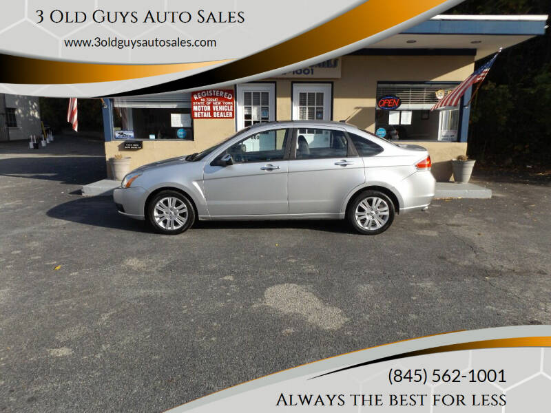 2010 Ford Focus for sale at 3 Old Guys Auto Sales in Newburgh NY