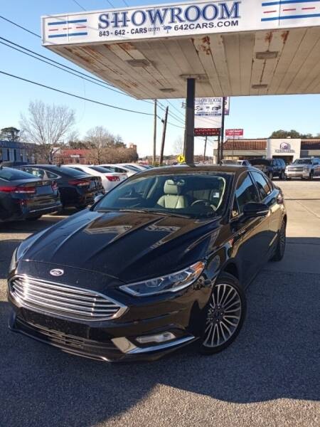 2017 Ford Fusion for sale at Showroom Auto Sales of Charleston in Charleston SC