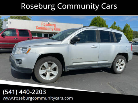 2011 Jeep Compass for sale at Roseburg Community Cars in Roseburg OR
