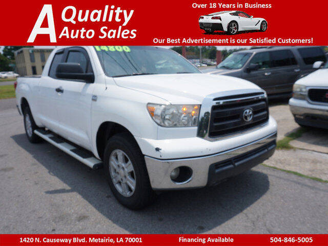 2010 Toyota Tundra for sale at A Quality Auto Sales in Metairie LA