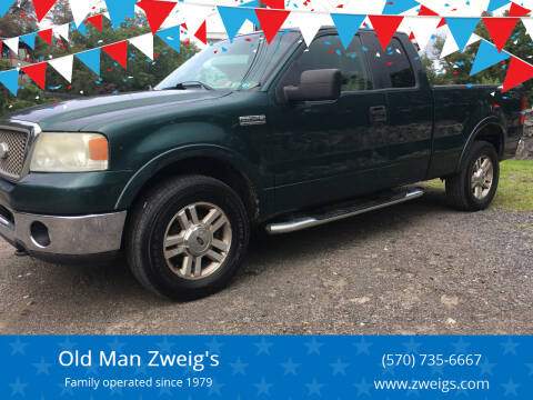 2007 Ford F-150 for sale at Old Man Zweig's in Plymouth PA