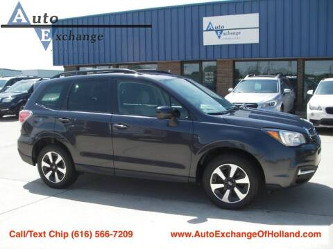 2018 Subaru Forester for sale at Auto Exchange Of Holland in Holland MI
