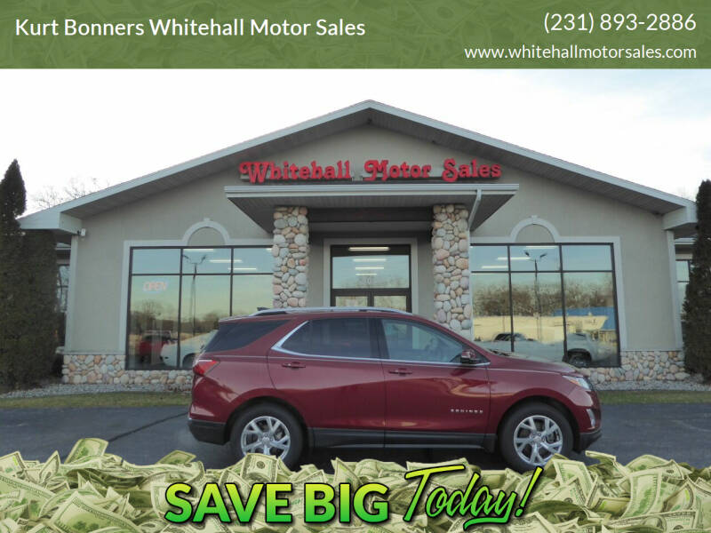 2018 Chevrolet Equinox for sale at Kurt Bonners Whitehall Motor Sales in Whitehall MI