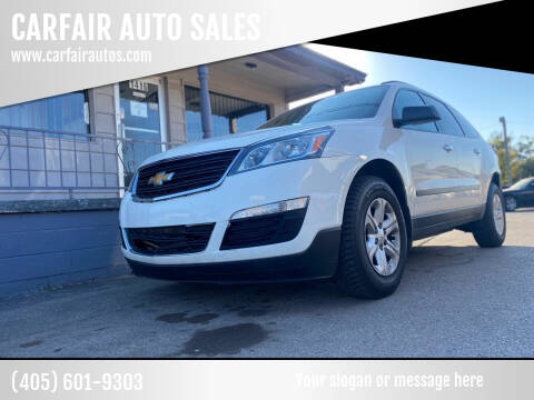 2013 Chevrolet Traverse for sale at CARFAIR AUTO SALES in Oklahoma City OK