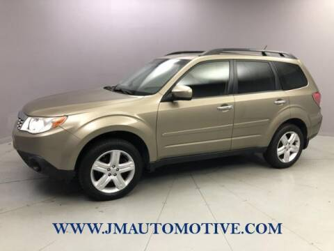2009 Subaru Forester for sale at J & M Automotive in Naugatuck CT