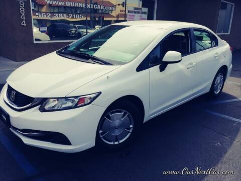 2013 Honda Civic for sale at Ournextcar/Ramirez Auto Sales in Downey CA