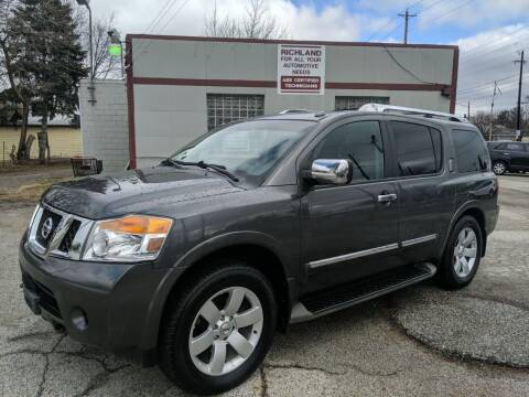 2010 Nissan Armada for sale at Richland Motors in Cleveland OH