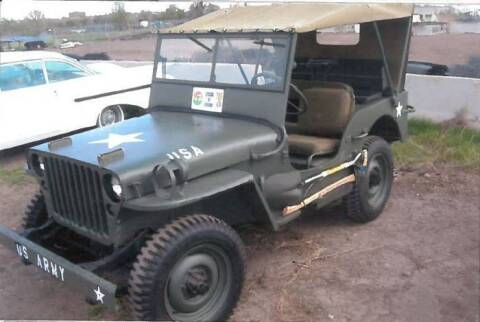 1942 Willys Jeep for sale at Classic Car Deals in Cadillac MI