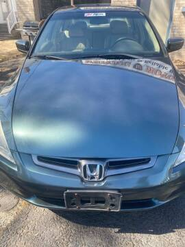 2004 Honda Accord for sale at Whiting Motors in Plainville CT