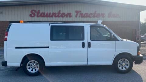 2013 Chevrolet Express Cargo for sale at STAUNTON TRACTOR INC in Staunton VA