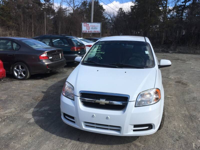 2011 Chevrolet Aveo for sale at B & B GARAGE LLC in Catskill NY