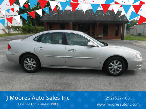 2008 Buick LaCrosse for sale at J Moores Auto Sales Inc in Kinston NC