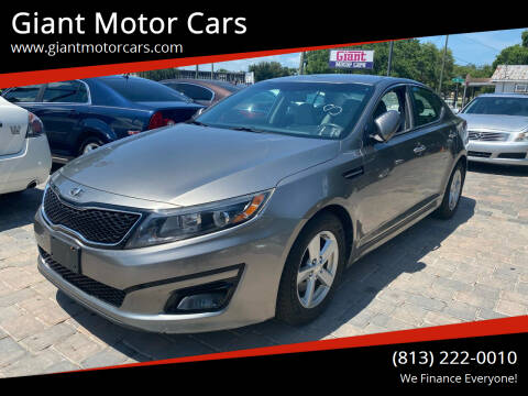 2014 Kia Optima for sale at Giant Motor Cars in Tampa FL