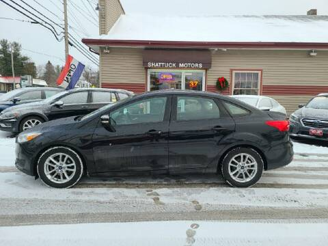 2015 Ford Focus for sale at Shattuck Motors in Newport VT