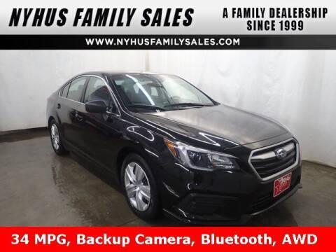2019 Subaru Legacy for sale at Nyhus Family Sales in Perham MN