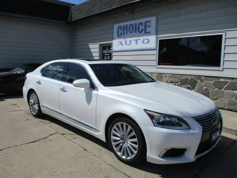 2014 Lexus LS 460 for sale at Choice Auto in Carroll IA
