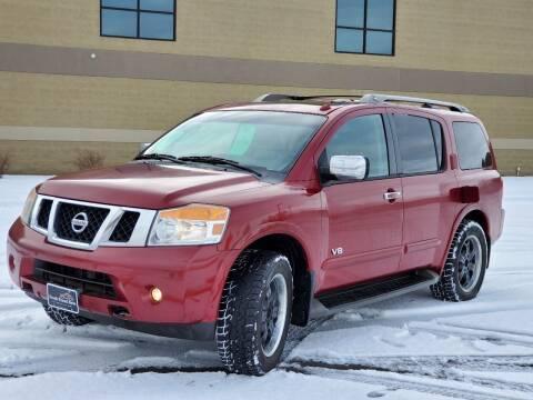 2008 Nissan Armada for sale at FRESH TREAD AUTO LLC in Springville UT