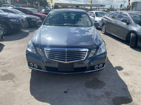 2011 Mercedes-Benz E-Class for sale at America Auto Wholesale Inc in Miami FL