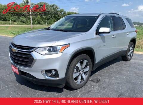 2018 Chevrolet Traverse for sale at Jones Chevrolet Buick Cadillac in Richland Center WI