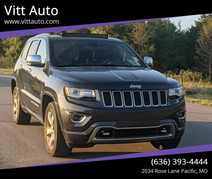 2015 Jeep Grand Cherokee for sale at Vitt Auto in Pacific MO