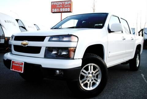 2009 Chevrolet Colorado for sale at Frontier Auto & RV Sales in Anchorage AK