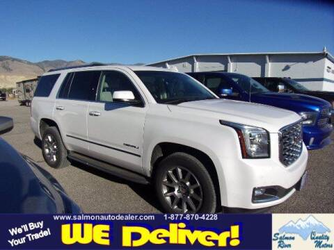 2018 GMC Yukon for sale at QUALITY MOTORS in Salmon ID