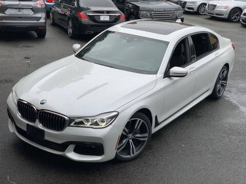 2016 BMW 7 Series for sale at LUXURY CARS OF NY in Queens NY
