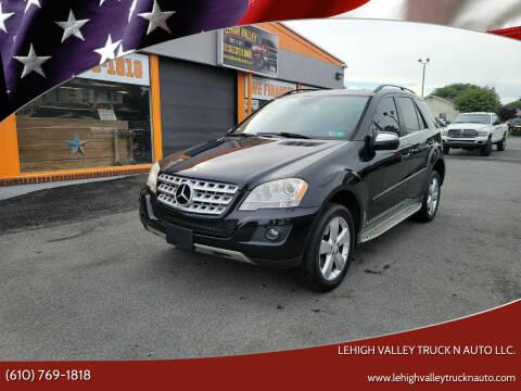 2010 Mercedes-Benz M-Class for sale at Lehigh Valley Truck n Auto LLC. in Schnecksville PA