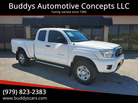 2012 Toyota Tacoma for sale at Buddys Automotive Concepts LLC in Bryan TX