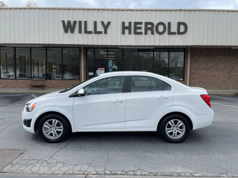 2014 Chevrolet Sonic for sale at Willy Herold Automotive in Columbus GA