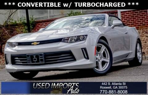 2018 Chevrolet Camaro for sale at Used Imports Auto in Roswell GA