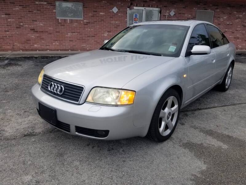 2004 Audi A6 for sale at UNITED AUTO BROKERS in Hollywood FL