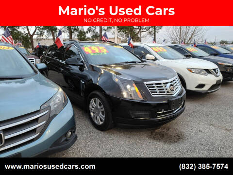 2015 Cadillac SRX for sale at Mario's Used Cars in Houston TX