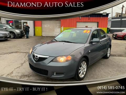 2007 Mazda MAZDA3 for sale at Diamond Auto Sales in Milwaukee WI