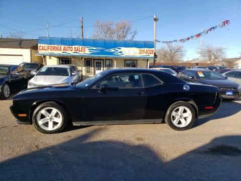 2013 Dodge Challenger for sale at California Auto Sales in Amarillo TX