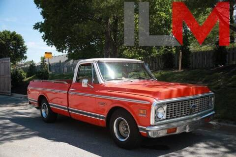 1972 Chevrolet C/K 10 Series for sale at INDY LUXURY MOTORSPORTS in Fishers IN